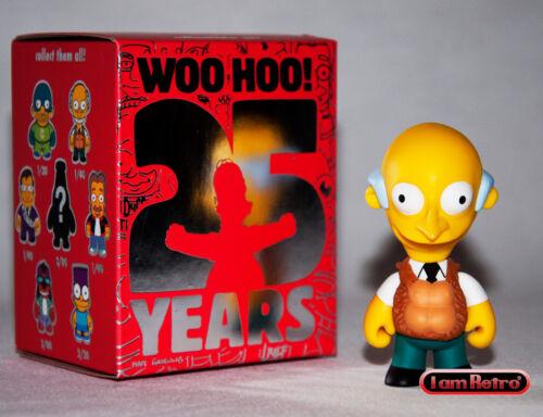 Burns voir mon gilet-Simpsons Anniversaire Vinyle Mini-Série Kidrobot NEUF