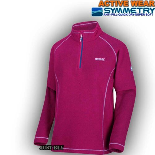 Womens Soft Fleece Walking Hiking Running Outdoor Work Jumper Pullover Kenge