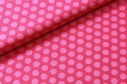 "44/"" 100/% Algodón Popelín de Tela Premium pequeñas manchas /& Lunares Rosa Púrpura Joann"