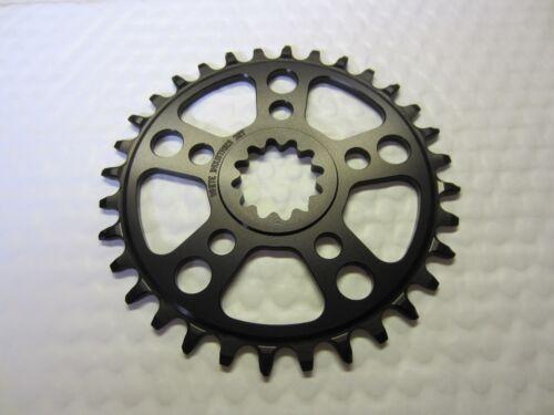 for ENO Crankset  chainwheel  BLACK White Industries TSR 30 t Chainring