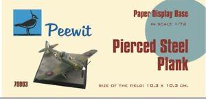 Bien Informé Pirlouit 1/72 Percé Acier Planche - 10,3 X 10,3 Cm # Pee70003-afficher Le Titre D'origine