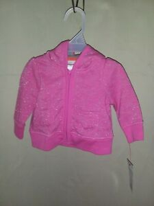 Provided Cat & Jack-0/3 Month Sweatshirt With Ears-pink Sparkle-nwt- d14 Nourishing Blood And Adjusting Spirit