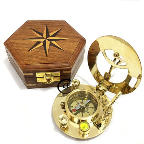 Valentine Maritime Astrolabe Sundial Compass Sporting Boating Path Finder Too