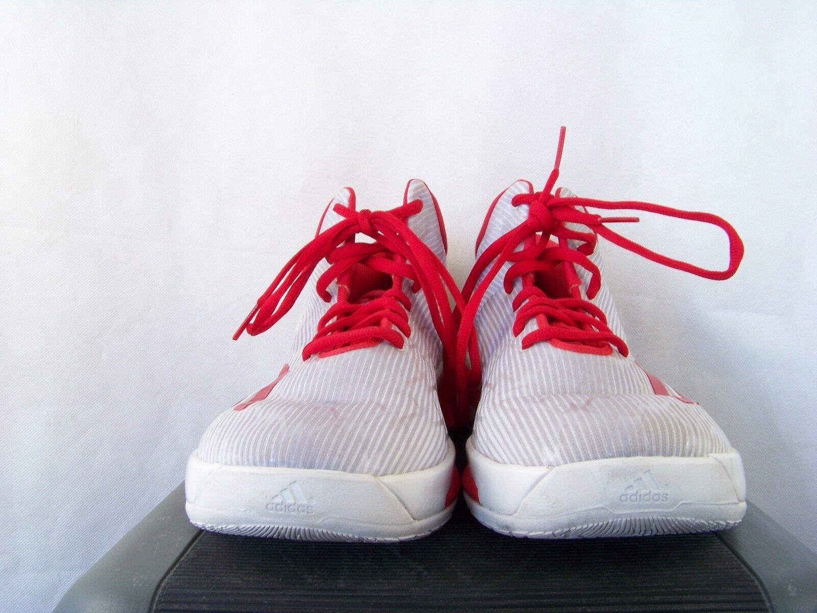 Adidas crazylight impulso 2014   bianco   rosso numero 17 | Colore Brillantezza  | Uomini/Donne Scarpa