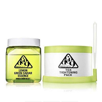 NEOGEN Code 9 Lemon Green Caviar Essence & Tox Tightening Pack Kit
