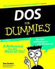 DOS For Dummies by Dan Gookin (Paperback, 1998)