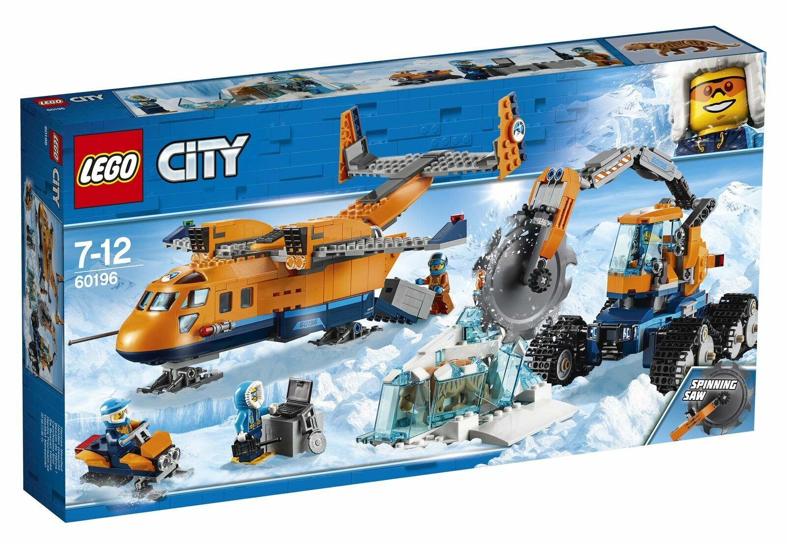 Lego CITY PLANO de suministro Ártico (60196)