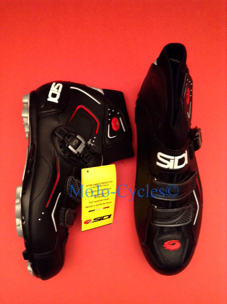 Sidi Breeze Rain Cycling Schuhes EU 42 US US 42 8.25 SPD 2 bolt New 747824