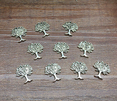 NEW DIY 10pcs Cute Tree Floating Charm for Glass Living Memory Locket ZA71