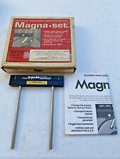 Vintage Magna Set Wood Jointer Knife Setting Jig Jj 6 Made In Usa