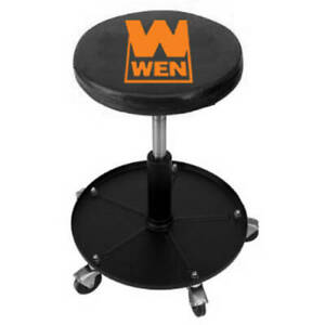 Cool Details About Rolling Mechanic Stool 300 Lb Capacity Pneumatic Seat Garage Roller Chair Tray Ibusinesslaw Wood Chair Design Ideas Ibusinesslaworg