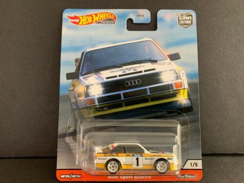 Hot Wheels Audi Sport Quattro 84 Hill Bergsteiger FPY86-956R 1//64