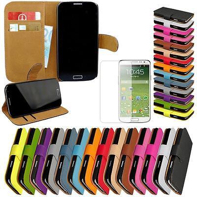 Samsung Galaxy S5 SM-G900F Handy Tasche Schutz Hülle Flip Case Etui Cover 7 in 1