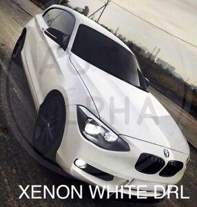 BMW-F20-F21-LED-XENON-BRIGHT-WHITE-DAYTIME-RUNNING-LIGHT-DRL-BULBS-UPGRADE