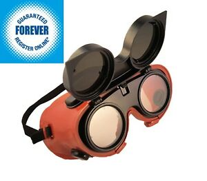 Silverline-Welders-Goggles-Welding-Goggles-Flip-Up-Lenses-Glasses-Green-Shade-5