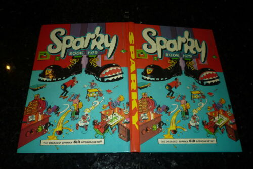 UK Annual Year 1979 SPARKY Comic Annual