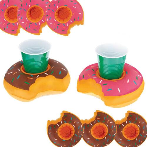 Gonflable Flottant boisson peut porte-gobelet piscine Flamingo licorne fun 5d