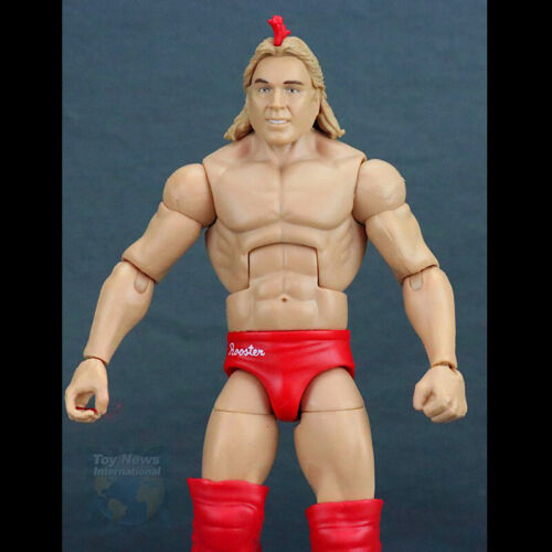 WWF WWE Red Rooster Elite 69 Exclusive Wrestling Action Figure Loose Kid Toy