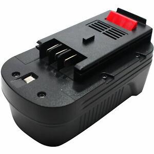 XTC183BK NS118 2-Pack 18V NICD Battery for Black /& Decker HPB18-OPE EPC18CAK