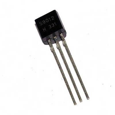 500pcs S9012 Bipolar Transistor PNP TO-92 New Good quality