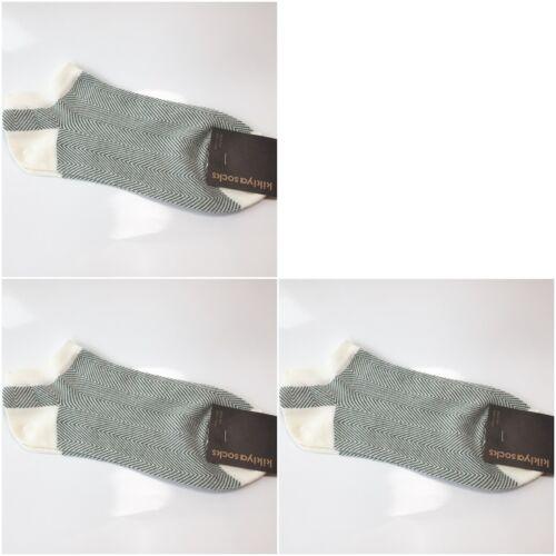 x 3 pairs Men/'s Herringbone Feel Cool Fashionable Socks Low Cut Ankle Korean