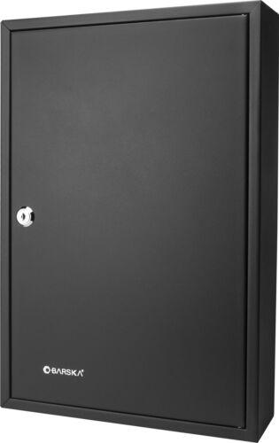 Barska 64 Key Safe Storage Box Wall Mount Cabinet With Key Lock CB12486