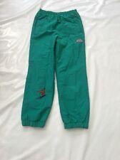 "Vintage 80's Ladies Green Ski Trousers Sz Waist 28/30"" #162"