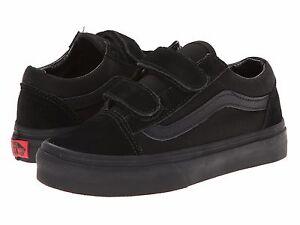 vans black boys