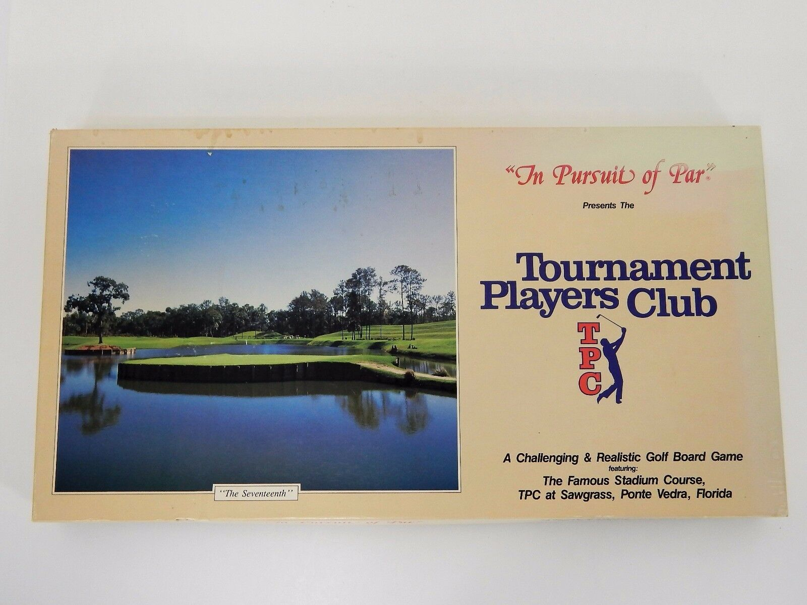 The Pursuit of Par The 17 TH TPC at Sawgrass Edition 1988 Made in USA Complete