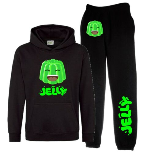 Kids Jelly youtuber Sweat à Capuche /& Pantalon De Survêtement Inspired You Tube Survêtement Jelly Time
