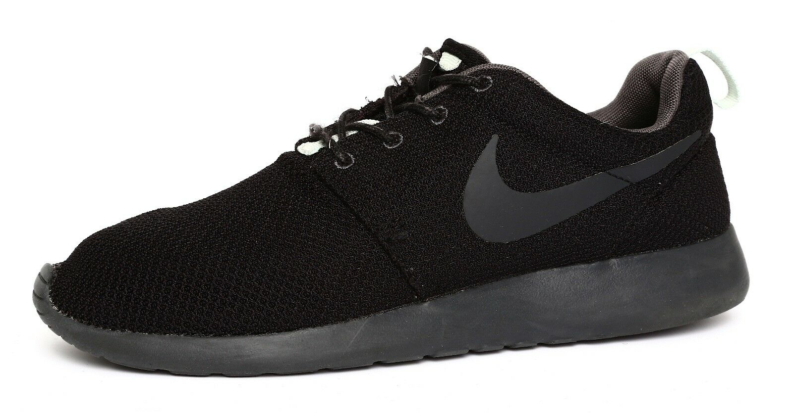 Nike Roshe Run Women's Women's Women's Black Sneaker Sz 9.5 9813 7ea41b