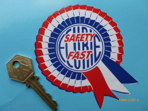 """BMC Ecurie Safety Fast Rosette Stickers 4/"""" BMC Mini Cooper S Monte Carlo Rally"""