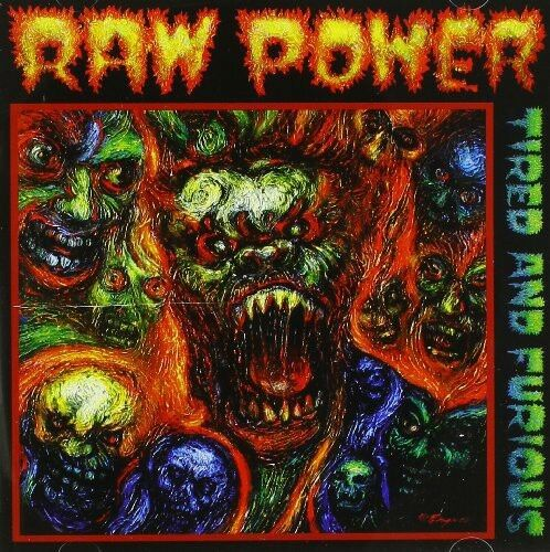 Raw Power - Tired & Furious [New CD]