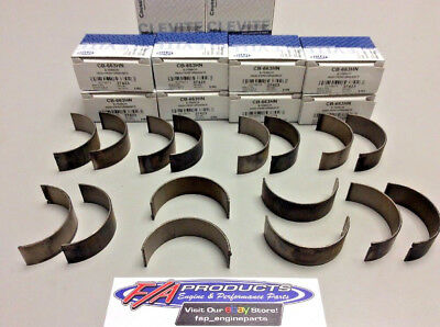 """8 CLEVITE RACING H Series ROD BEARINGS SMALL BLOCK CHEVY .019/"""" CB663H-19"""