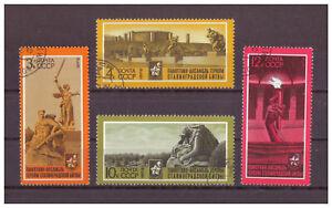 Sowjetunion-30-Anniversaire-de-la-Victoire-en-Stalingrad-Minr-4088-4091-1973
