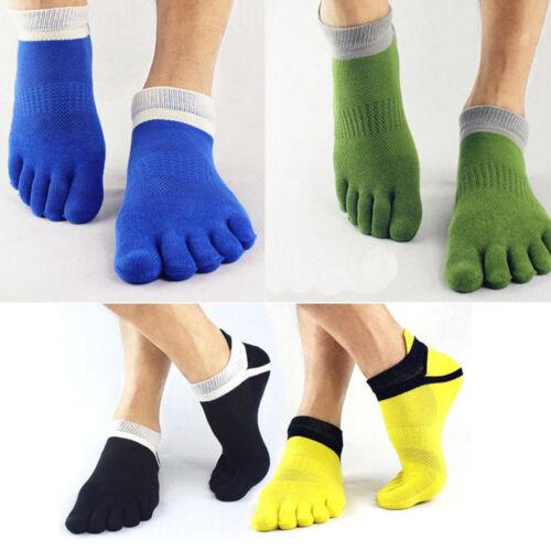 1 Pair Men/'s Socks Cotton Meias Sports Five Finger Socks Toe Socks For EU 40-46