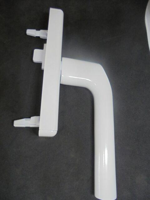 Fenstergriff Getriebe Wicona GEZE Roto silber abschließbar   mit Zubehör 061675