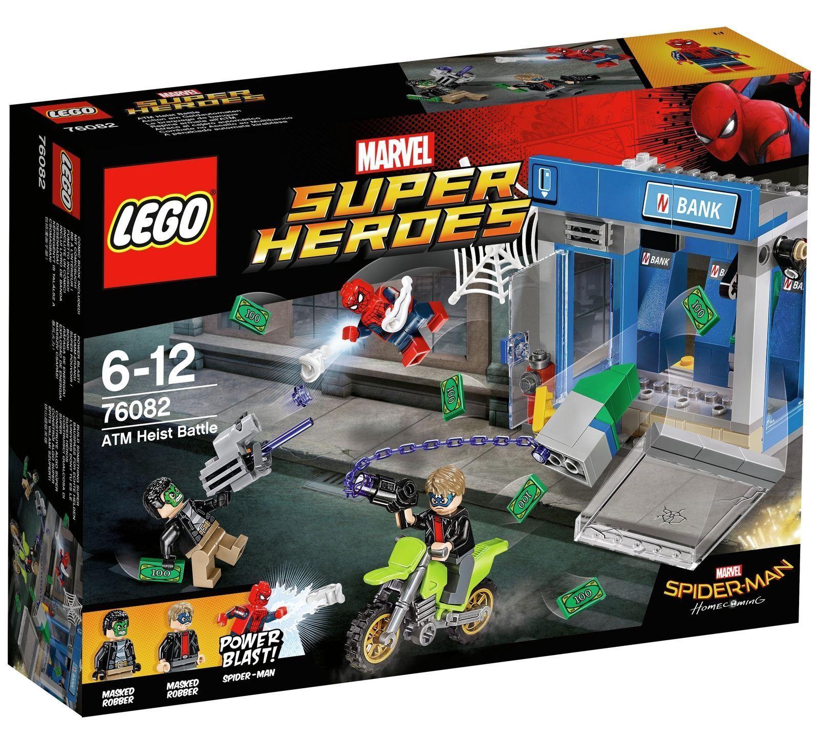 LEGO Marvel Super Heroes Spider-Man ATM Heist Battle - 76082