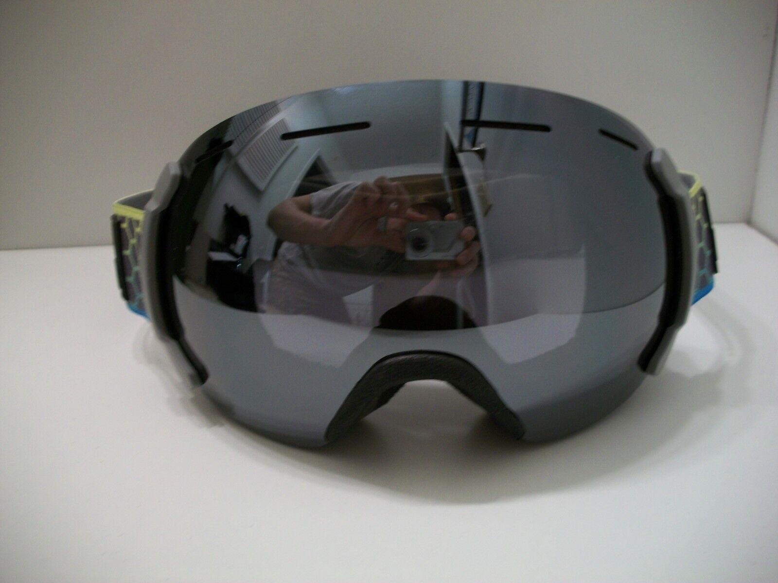 Bern Eastwood Cyan Lime Fade Ski Snow Board Goggles L Frame Read Entire Post