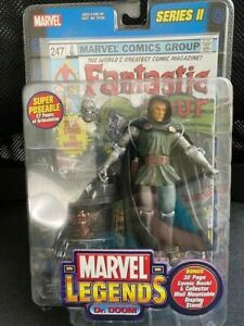 Marvel Legends - Doctor Doom - Removable Mask - 32 Page Comic - New In Package