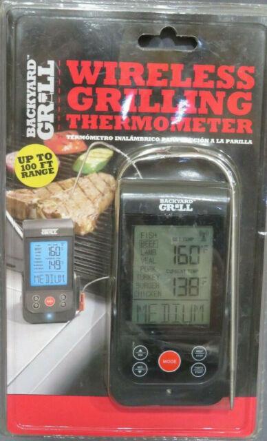 New Sealed Backyard Grill Wireless Grilling BBQ ...