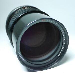 Carl-Zeiss-MC-Sonnar-4-300-fuer-Pentacon-Objektiv-Top-Zustand-ff-shop24