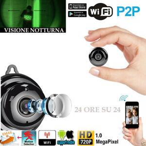 Telecamera-HD-1080P-spia-WiFi-Camera-Wireless-IP-Camera-RETE-INTERNET-IR-LEDS