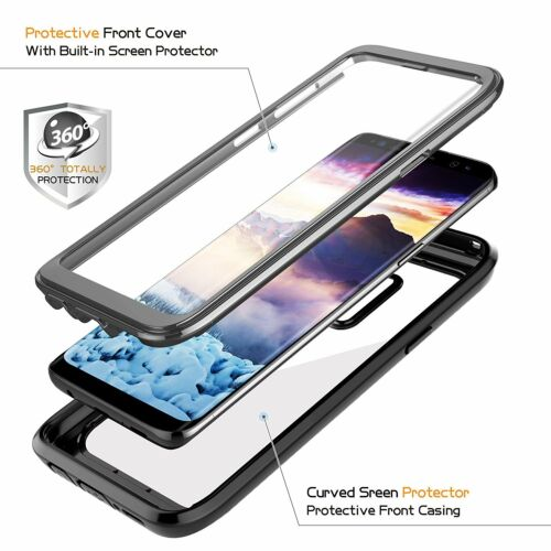 Galaxy S7 S7 Edge Note 8 S8 S8 Plus S9 S9 Plus Extreme Case Cover Shockrproof