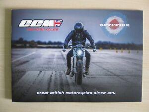 Details about CCM Spitfire Motorcycle Range UK sales Brochure (2018)