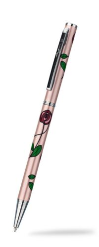 Mackintosh Rose Ballpoint Pen Silver Plated Brand New Boxed Various Colours