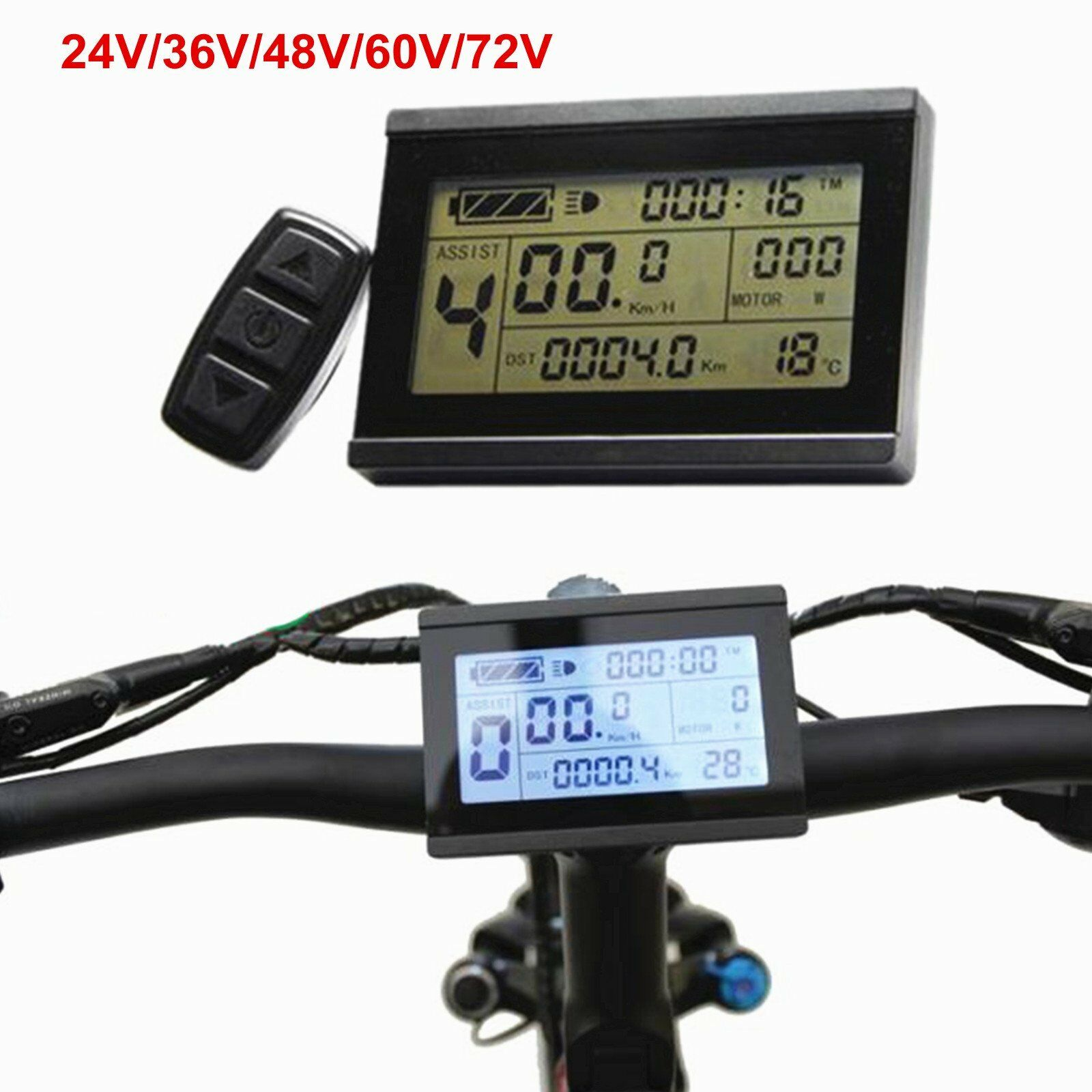 24-48V  Risunmotor LCD3 Display Meter Control Panel For e-Bike Electric Bicycle  no.1 online