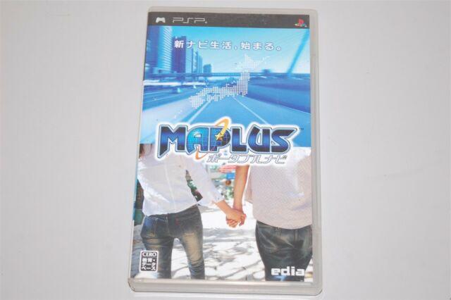 Maplus: Portable Navi Japan Sony PSP game