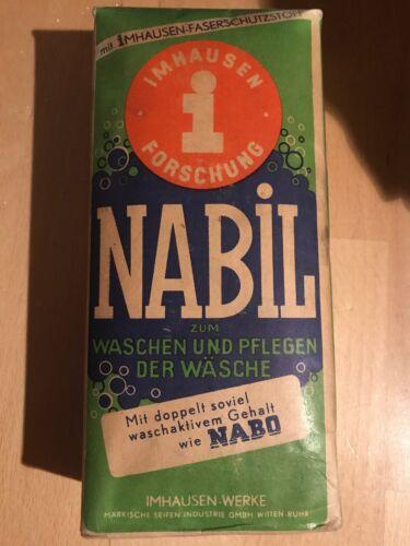Nabil Nabo Waschmittel für die Wäsche uralt antik