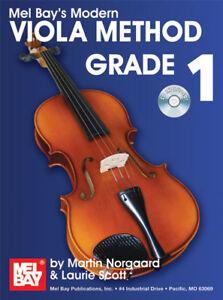 Mel Bay Moderne Viola Method Grade 1 Livre & Cd-afficher Le Titre D'origine